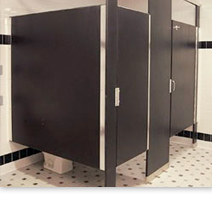 Bobrick Bathroom Partitions Style toilet partitions | plastic | rayhaven group